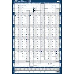 Sasco 2022 Unmounted Year Planner Portrait 610 x 915mm