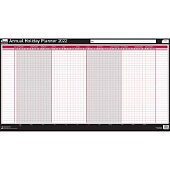 Sasco 2022 Unmounted Annual Holiday Planner 750 x 410mm