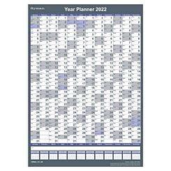 Ryman 2022 Wall Planner Compact Portrait