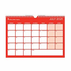 Collins Colplan Academic Memo Calendar A4 2021