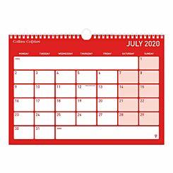 Collins Colplan Memo Calendar A4 2020-2021