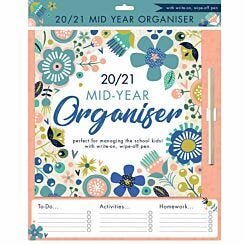 Mums School Year Planner 2020-2021 Floral