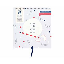 Busy B Wall Planner Mid-Year 2019-2020