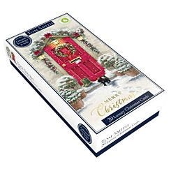 Tom Smith Luxury Slim Front Door Christmas Cards Pack of 20