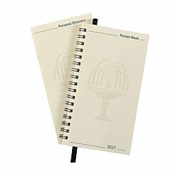 Collins Pocket Diary Refill Week to View 2021