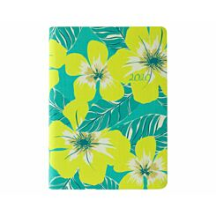 Letts Tropical Linen Diary Week to View A6 2020