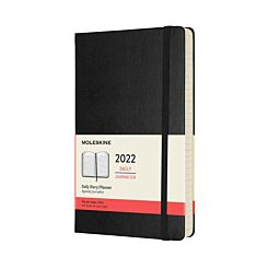 Moleskine 2022 Large Hardcover Day per Page Diary