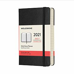 Moleskine Hard Cover Diary Day to View Pocket 2021