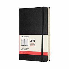 Moleskine Hard Cover Diary Day to View Large 2021