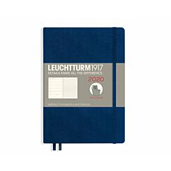 Leuchtturm Soft Cover Planner Week to View A5 2020