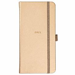Busy B Slim Diary Week to View 2021 Rose Gold