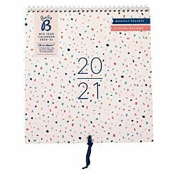Busy B Wall Planner Mid-Year 2020-2021
