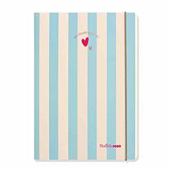 Matilda MOO Flex Diary Week to View A5 2020-2021 Blue