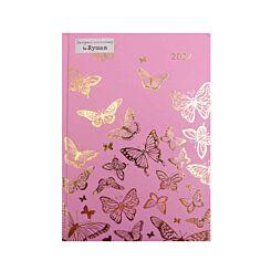 Ryman Butterfly Diary DPP A5 2022