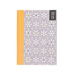 Ryman Flexi Linen Floral Diary Page a Day A6 2019