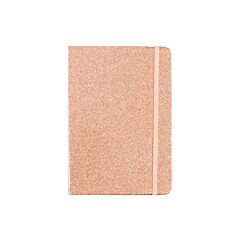 Ryman Glitter Diary Week to View A5 2020 Rose Gold