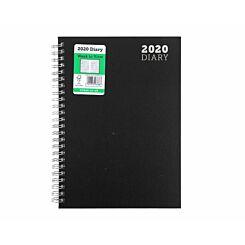 Ryman Wire Bound Diary Week to View A5 2020