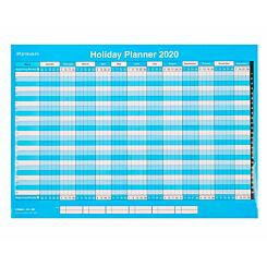 Ryman Holiday Wall Planner Compact 2020