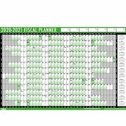 Tallon Fiscal Wall Planner 2020-2021