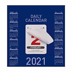 Collins Daily Block Calendar 2021