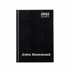 Ryman Personalised Diary LA51 Day to View A5 2022