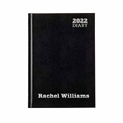 Ryman Personalised Diary LA53 Week to View A5 2022