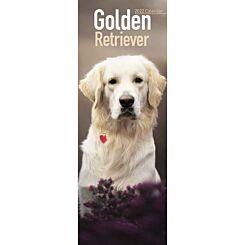 Golden Retriever 2022 Slim Calendar