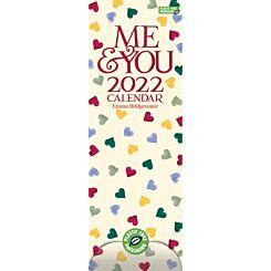 Emma Bridgewater 2022 Slim Calendar