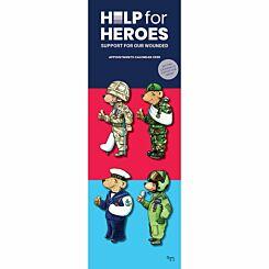 Help for Heroes Slim Calendar 2020