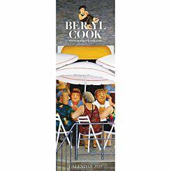 Beryl Cook Slim Calendar 2020