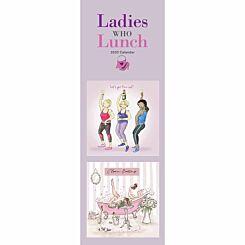 Ladies Who Lunch Slim Calendar 2020