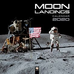 Moon Landings Wall Calendar 2020
