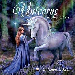 Anne Stokes Unicorns Wall Calendar 2020