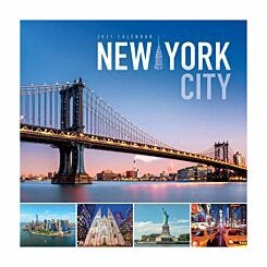 New York Wall Calendar 2021