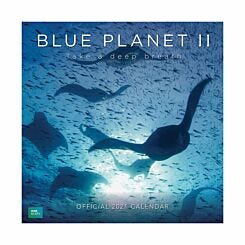 BBC Blue Planet II Wall Calendar 2021