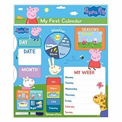 Peppa Pig My First Calendar Wall Calendar 2021