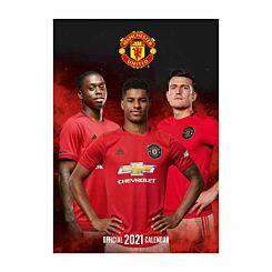 Manchester United A3 Calendar 2021