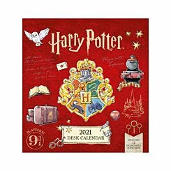 Harry Potter Postcard Desk Calendar 2021