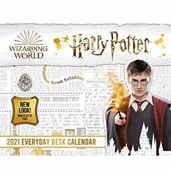 Harry Potter Desk Block Calendar 2021