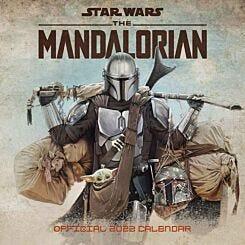 Star Wars Mandalorian 2022 Wall Calendar
