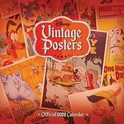 Disney Vintage Posters 2022 Wall Calendar