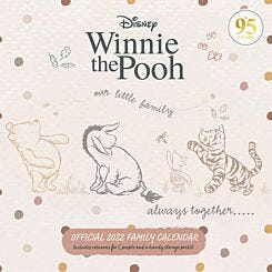 Winnie the Pooh Classic 2022 Wall Planner