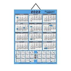 At a Glance Three Year Wall Calendar
