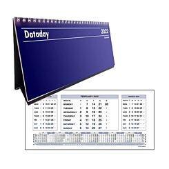 Dataday DC3MSP Three Month to View Desk Calendar