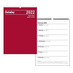 Dataday O26A Week to View Wall Calendar