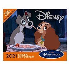 Disney Animation Desk Block Desk Calendar 2021