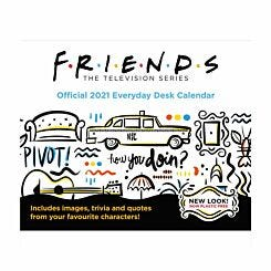 Friends Desk Block Calendar 2021