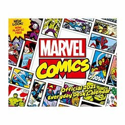 Marvel Desk Block Calendar 2021