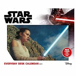 Star Wars Desk Block Calendar 2021