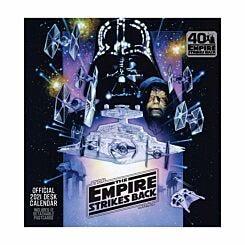 Star Wars Empire Strikes Back Desk Easel Calendar 2021